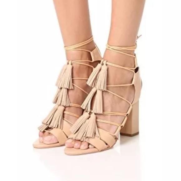 991ace178a27 NIB Loeffler Randall Luz Tassel Sandals 8.5